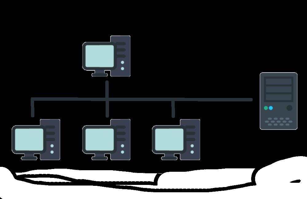 Arbeiten im <b>Netzwerk</b> / Zugriff per Terminalserver